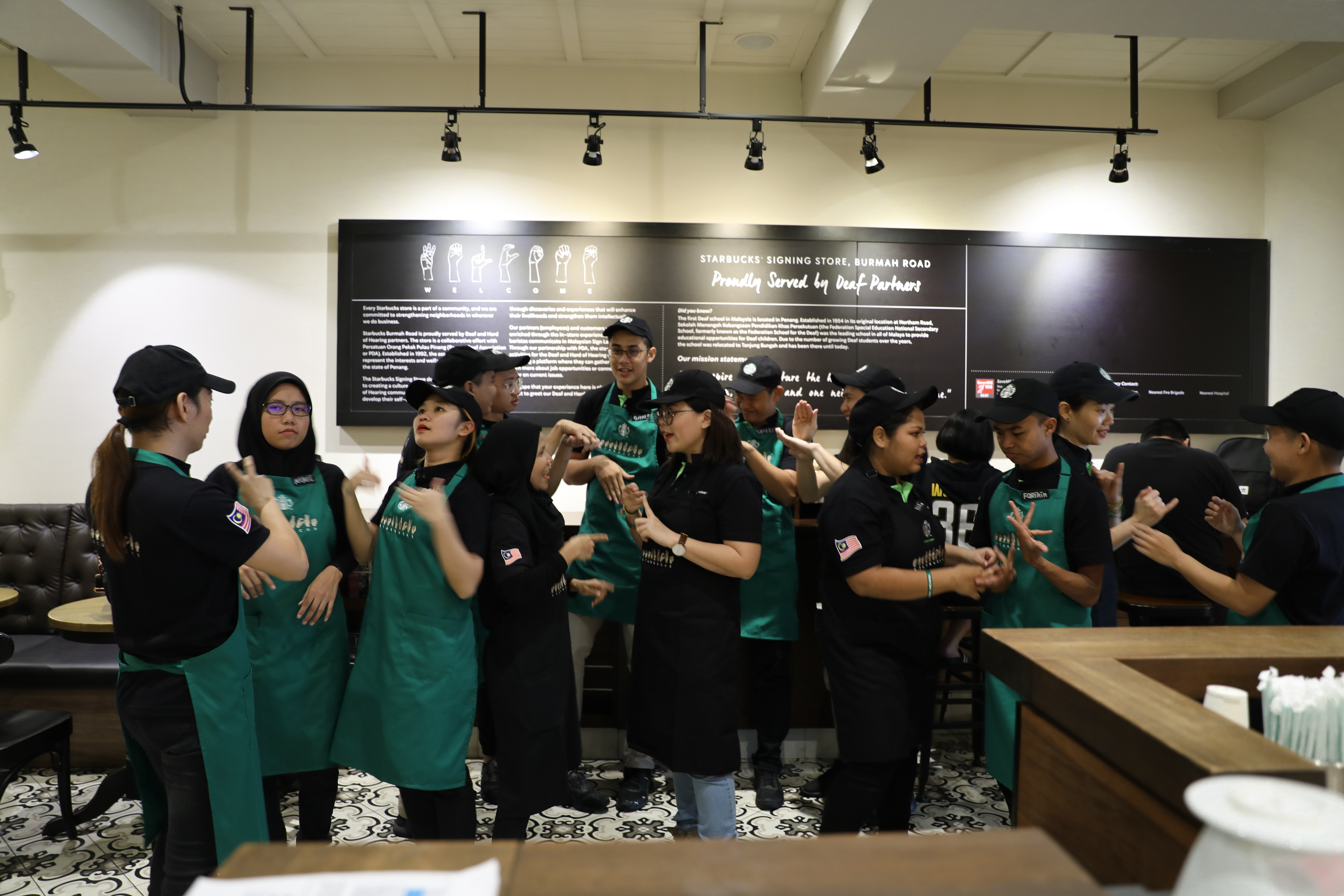Starbucks Opens World's Fourth Signing Store in Penang