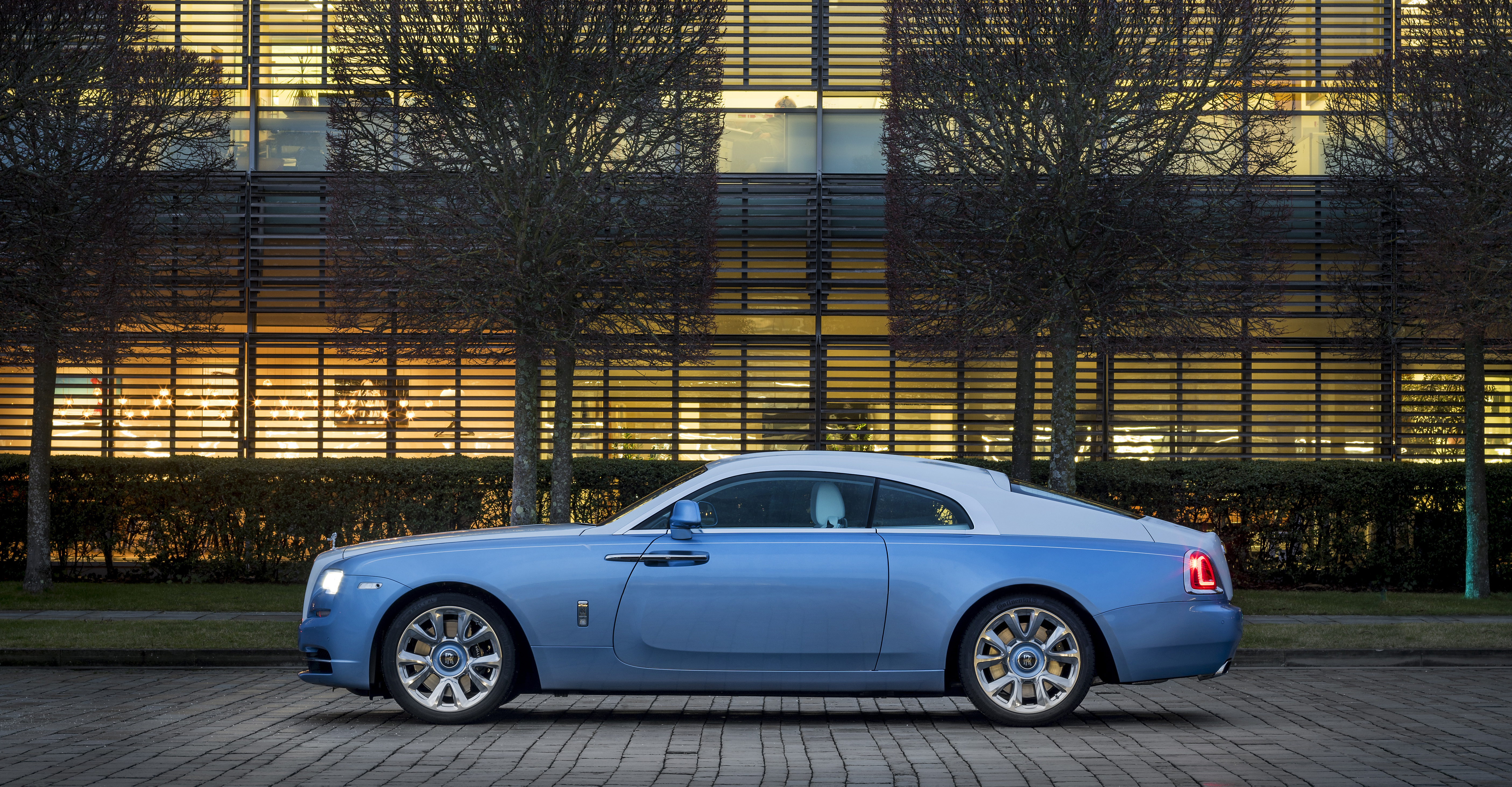 Falcon Wraith Features Most Detailed Rolls-Royce Embroidery Ever