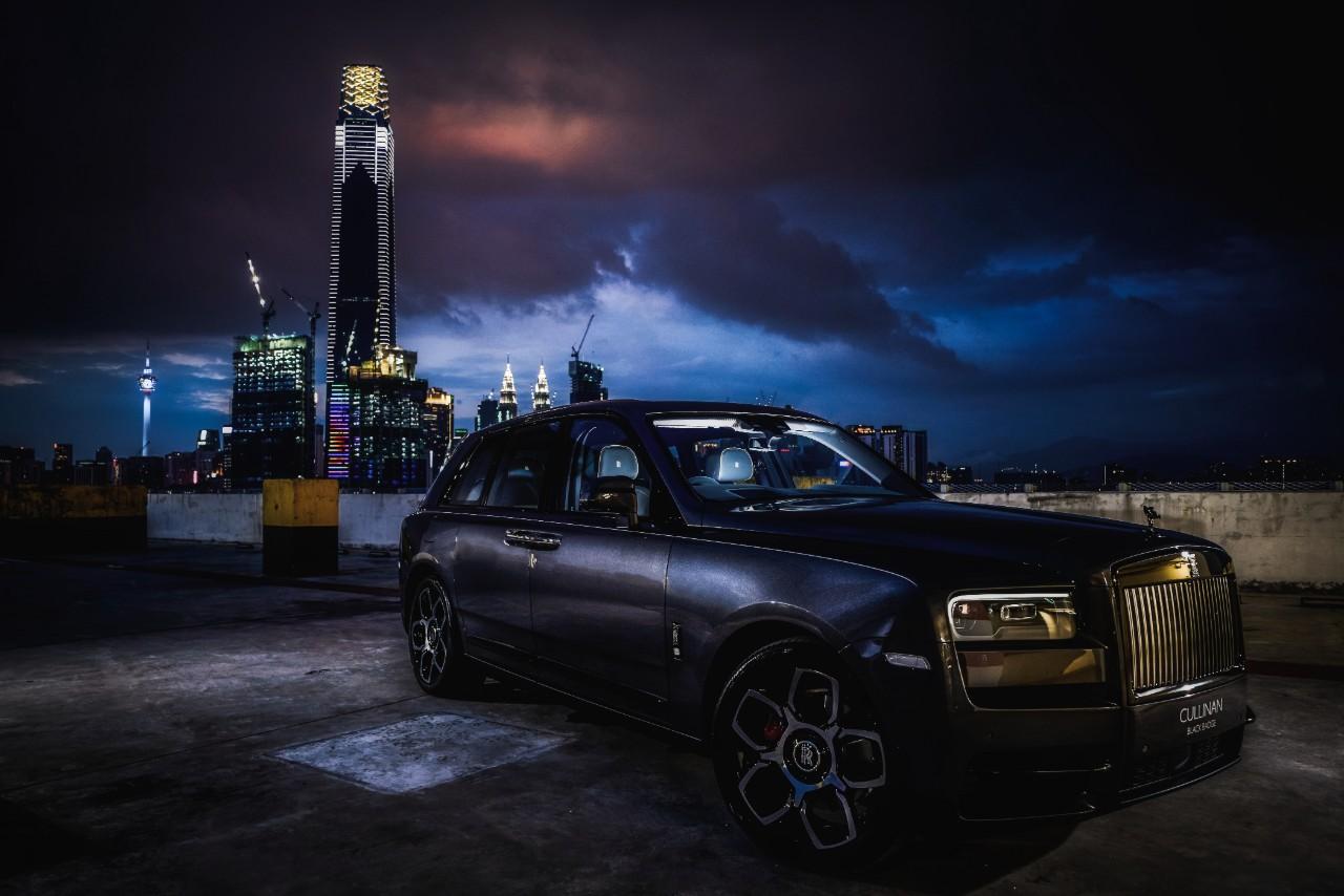 "Rolls-Royce ""Back in Black'' In Malaysia"