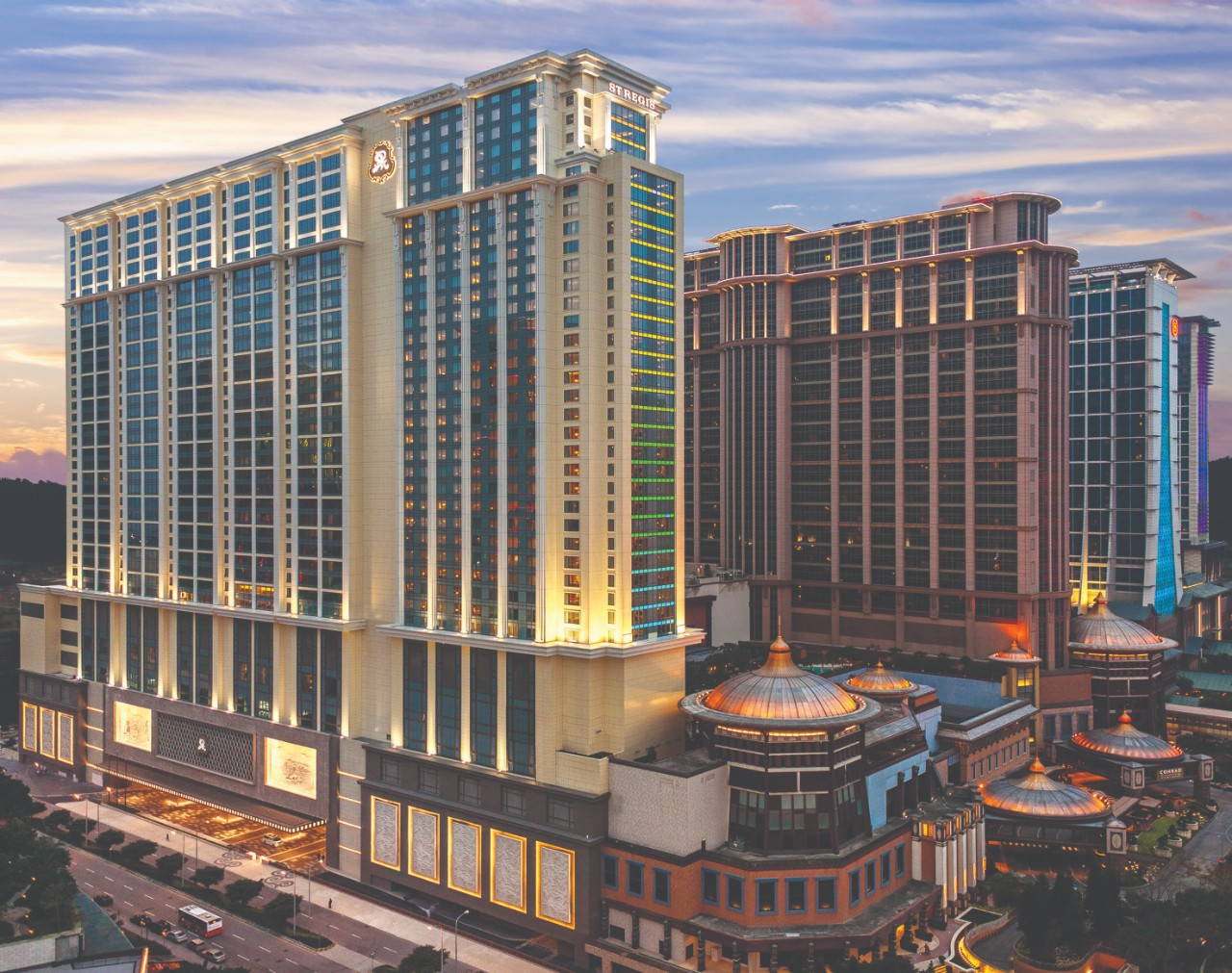 The Gold List 2020 Best International Hotel —  The St. Regis Macao, Cotai Strip