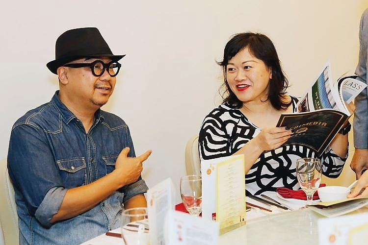 From Left: Tam Wai Kin, Deputy Editor- in-chief of gourmet traveller and Agnes Chee, columnist were among the guests' of honour.