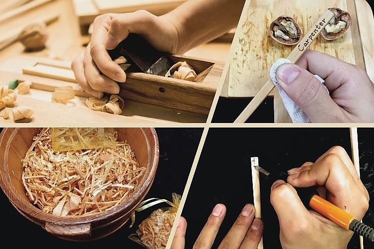Taiwan Cypress Chopsticks DIY