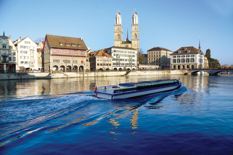 Strolling Around Zurich's Old Town