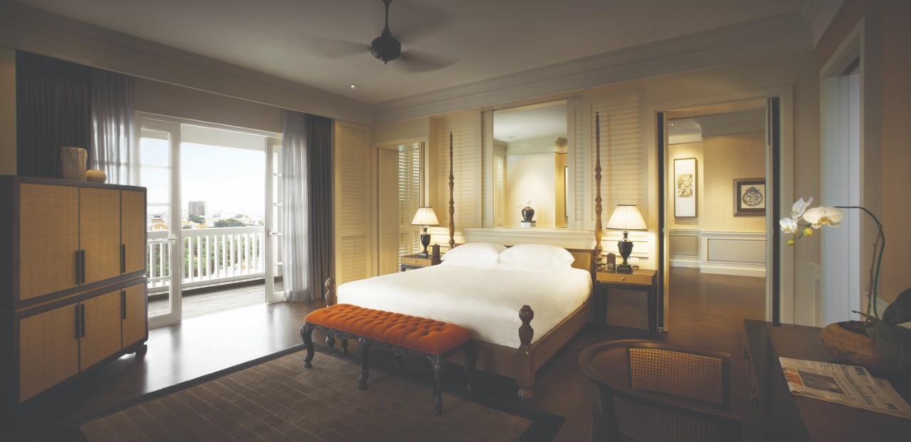 Va Corner Suite - Bedroom