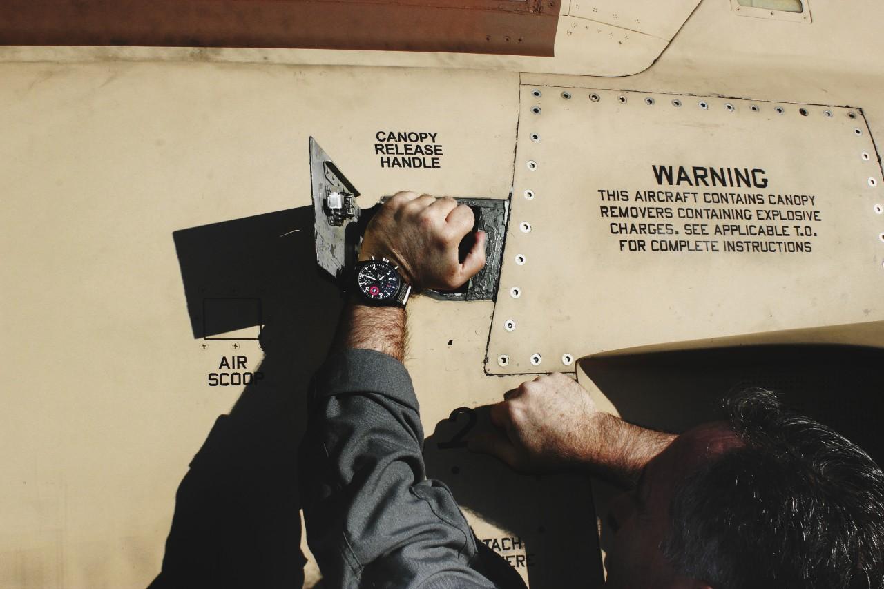 IWC Schaffhausen's TOP GUN Pilot's Watches