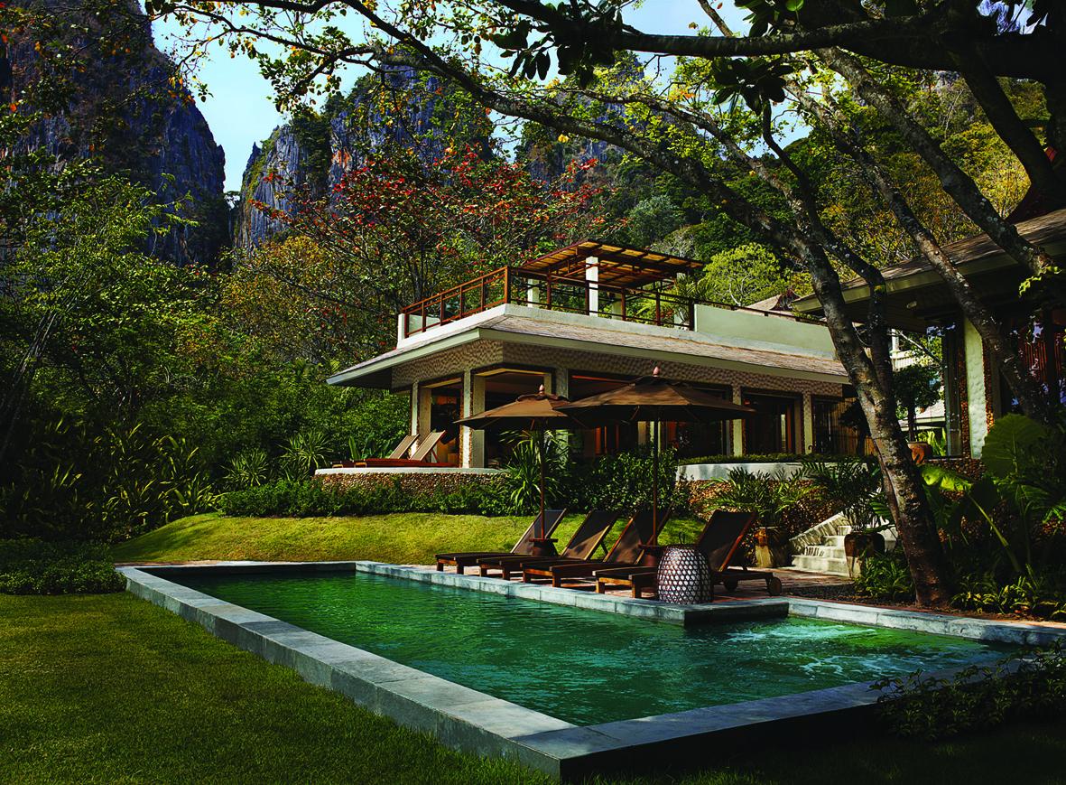 Rayavadee Krabi: Award-Winning  Tropical Landscapes