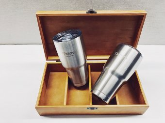 A Taiwan stainless steel vacuum bottle will be given free for the purchase of any tour packages.